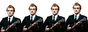 NO LONGER AN IMPOSSIBLE DREAM: New technology will soon enable accurate cloning of mandolinist-singer Chris Thile.