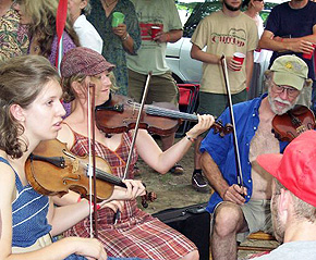 Excessive fiddling is so often accompanied by drastic alcohol consumption and sleep deprivation that it becomes almost impossible to measure the effects of fiddle abuse alone, said one skeptic.