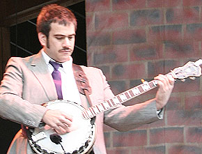 Despite countless technical achievements, the problem of how to make progressive banjo playing less earnest and more ironic had thwarted banjoists for years.