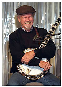 Bill Keith, the most important banjoist since Earl Scruggs, holds an annual passing of the torch within his bluegrass festival tipi.