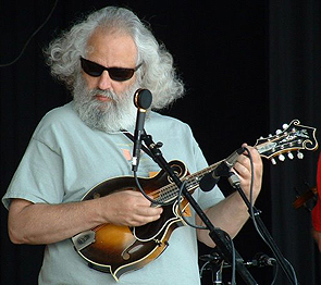 Grisman's glorious grey beard and transcendent aura have earned him favorable comparisons with Gandalf the Grey.